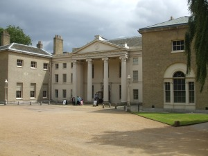 Main (Northern) entrance to Kenwood House