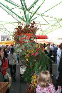 Berry Man - the Autumn incarnation of the original Green Man - in Borough Market