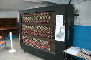The Bombe Rebuild at Bletchley Park