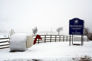 Mainsgill Farm entrance