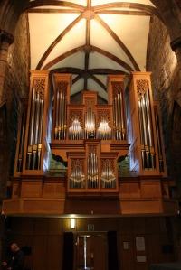 St Mary's Haddington - Organ