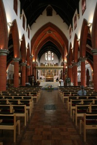 The Nave and Chancel of St Saviour's Church, St Albans