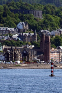 St Columba's RC Cathedral and McCaig's Tower