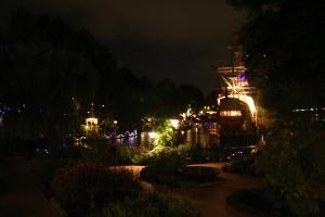 Tivoli Gardens by night