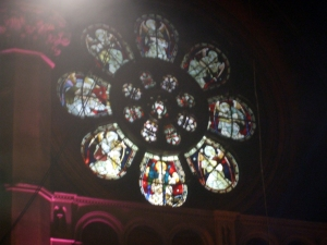 Window at Union Chapel