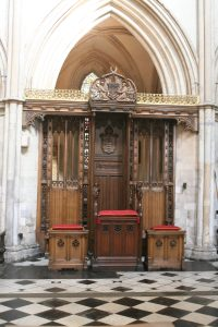 Bishop's Throne at Southwark Cathedral