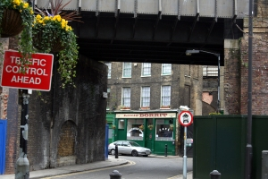 Little Dorrit through Park Road railway bridge
