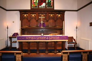 Altar at All Saints, Bearsden