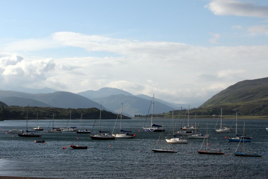 Morning Summer Sun on Loch Broom