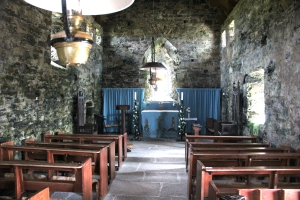 Interior of St Moluag's Church