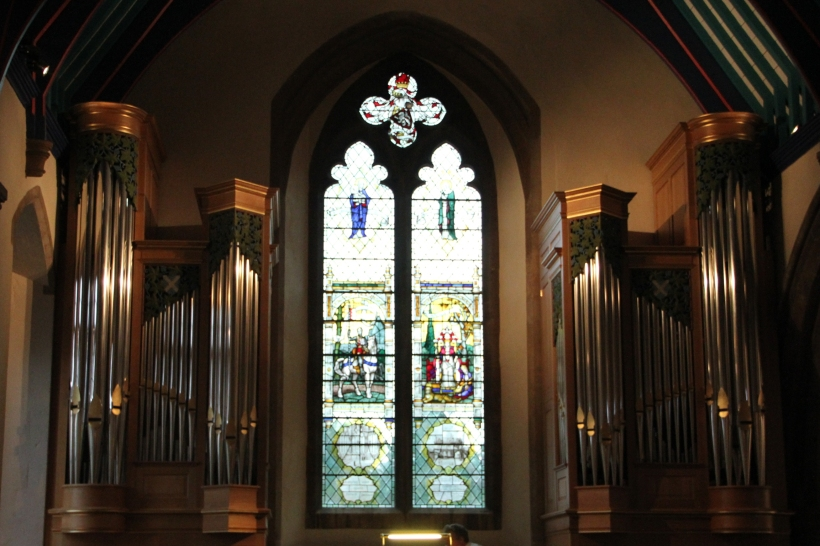 The West Window (1932) and Organ (2009)