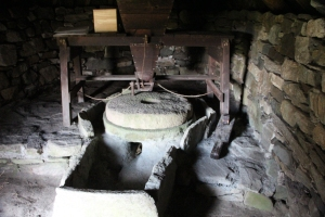 Inside of the Shawbost Norse Mill