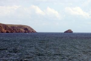 Eilean a' Chrotaich off the Eye Peninsula