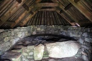 Inside of the Shawbost Kiln