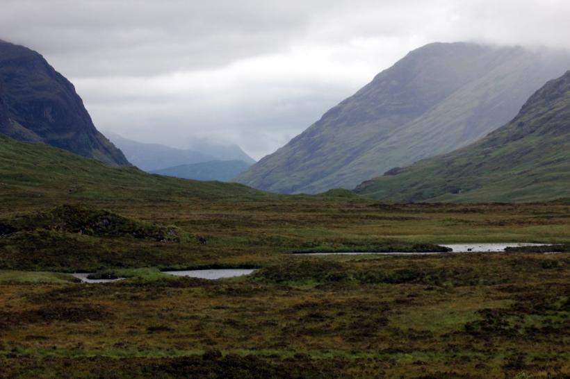 An Overcast Glencoe