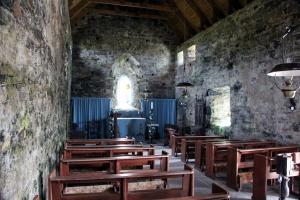 Interior of St Moluag's Church, Eoropaidh