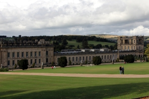 South east aspect of Chatsworth House