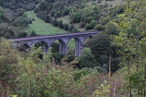 Headstone Viaduct across the River Wye at Monsal Head