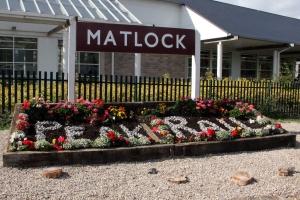 Matlock station, Peak Rail platform