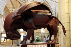 St Luke - The Winged Bull