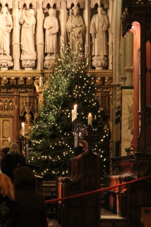 2011 Christmas Tree at Southwark Cathedral