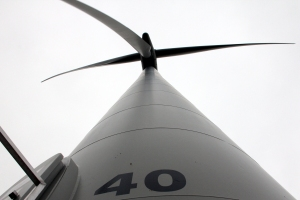 Tower 40 of Whitelee Windfarm