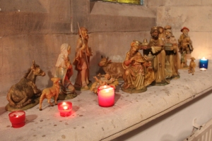 The Magi visit Jesus