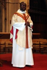 Chuks Iwuagwu, newly ordained priest
