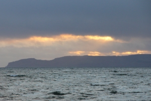 Sunset of the Mull of Kintyre