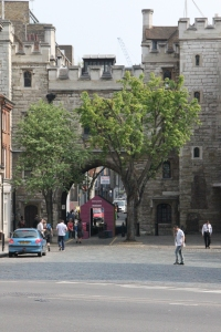 North side of St John's Gate, Clerkenwell, London