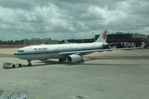 Air China A330 B-6536 at London Gatwick