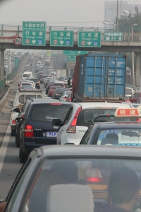 Traffic congestion Beijing style