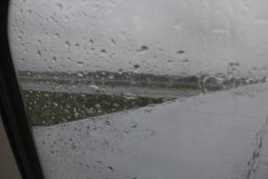 Rain at Gatwick
