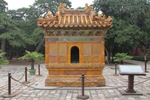 Silk Burning Stove at Chang Ling Tomb