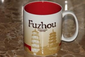 Starbucks Mug from Fuzhou