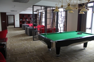 Games room at Club L