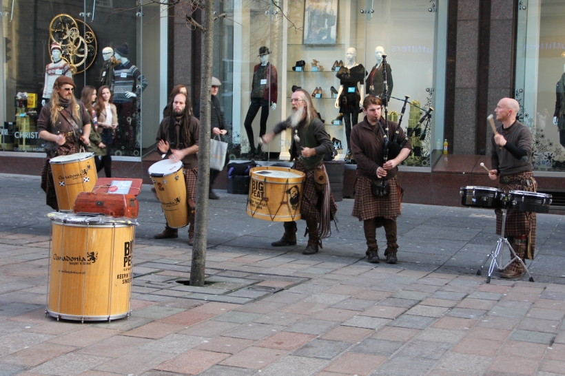 Clanadonia in Buchanan Street, Glasgow.