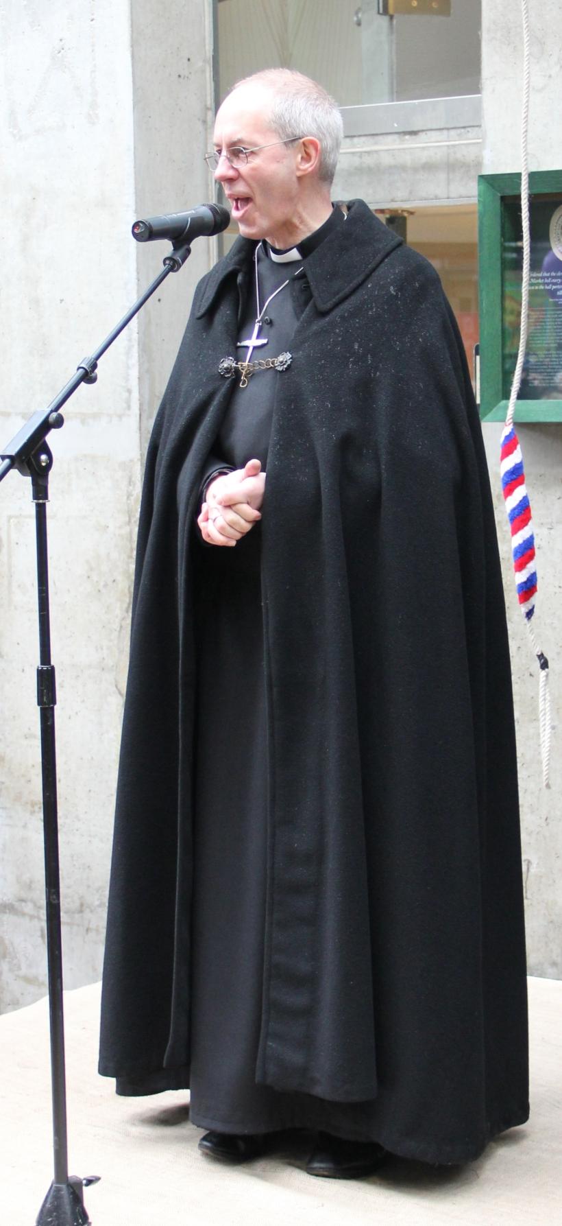 Archbishop of Canterbury blessing Borough Market