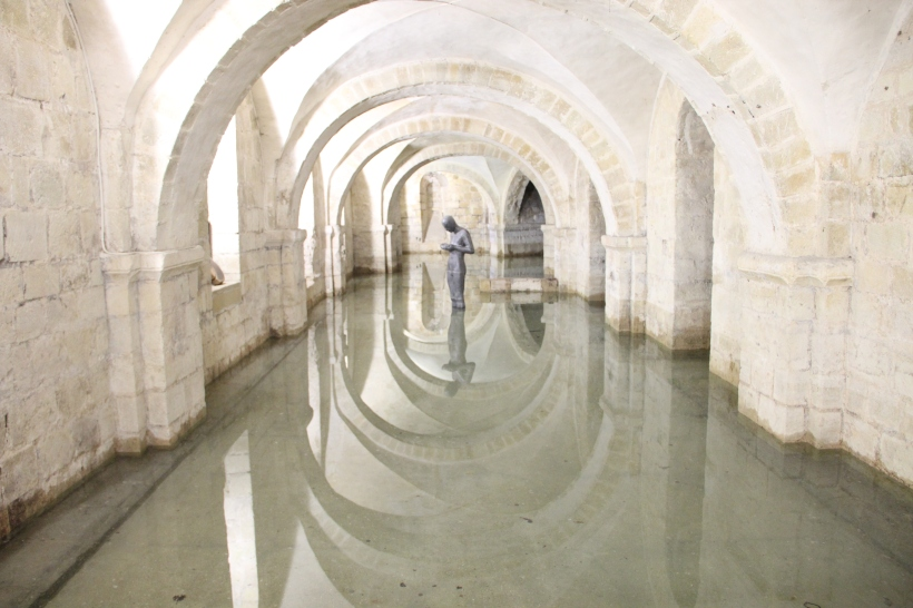 Crypt of Winchester Cathedral - 8 February 2013