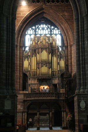 The Organ of Chester Cathedral - 10 August 2013