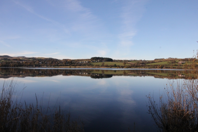 Castle Semple Loch near Lochwinnoch - 10 November 2013