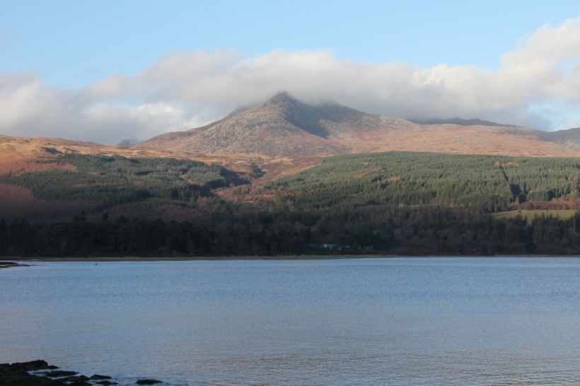 Goat Fell at Hogmanay - 31 December 2013