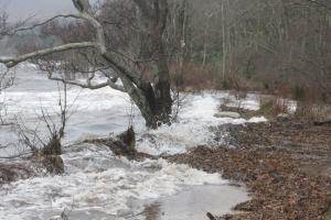 Tidal Surge in Brodick Bay