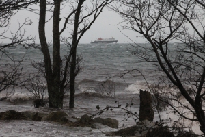 MV Clansman approaching Brodick Bay