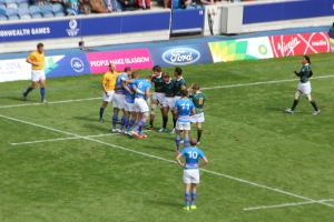 Scotland v. South Africa Rugby Sevens at Ibrox