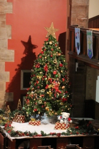Christmas Tree in Kilbarchan East Church