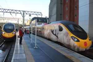 #Traindeer Pendolino 390 112 and friend at Glasgow Central