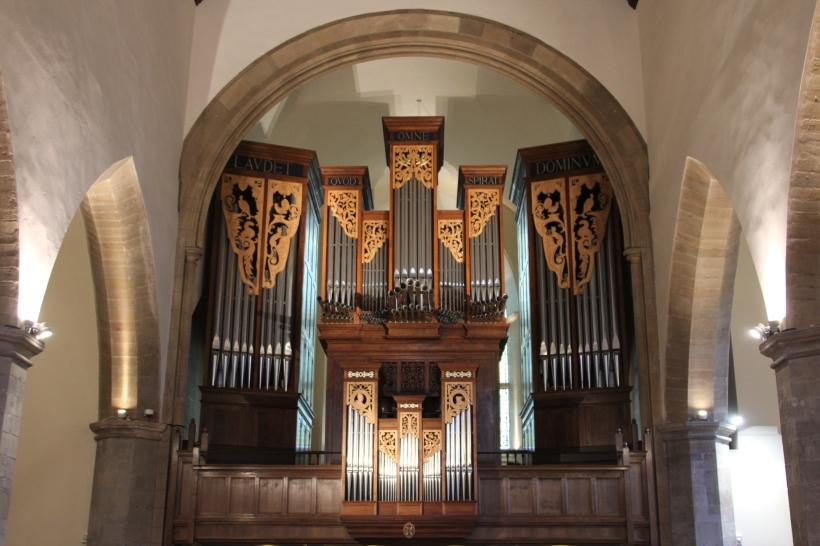 The 1989 organ at Greyfriars Kirk
