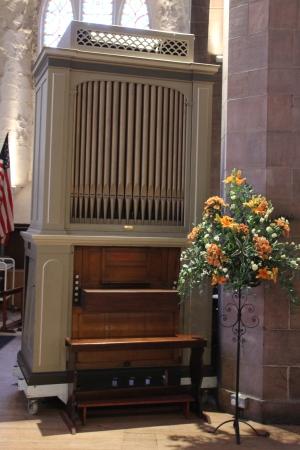 The chamber organ at Greyfriars Kirk