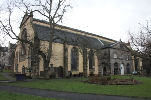 The North side of Greyfriars Kirk